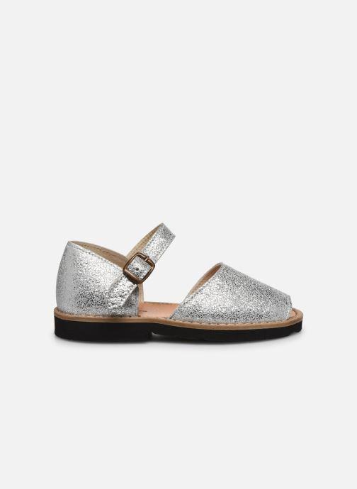 Sandali e scarpe aperte Minorquines Frailera Argento immagine posteriore