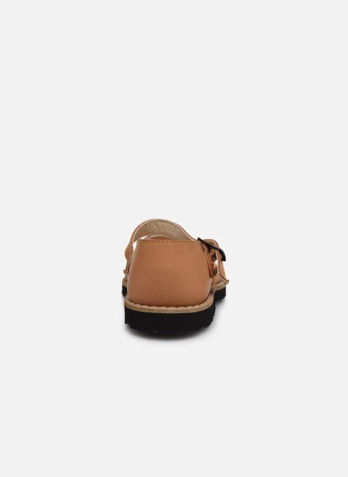 Sandali e scarpe aperte Minorquines Frailera Marrone immagine destra