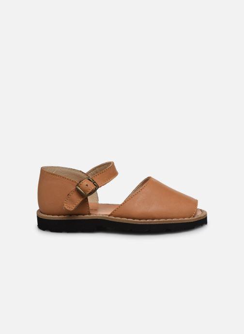 Sandales et nu-pieds MINORQUINES Frailera Marron vue derrière