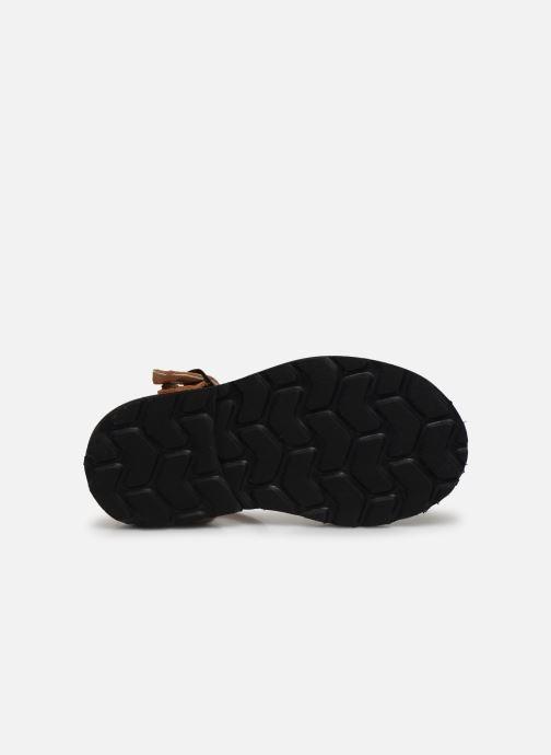 Sandales et nu-pieds MINORQUINES Frailera Marron vue haut