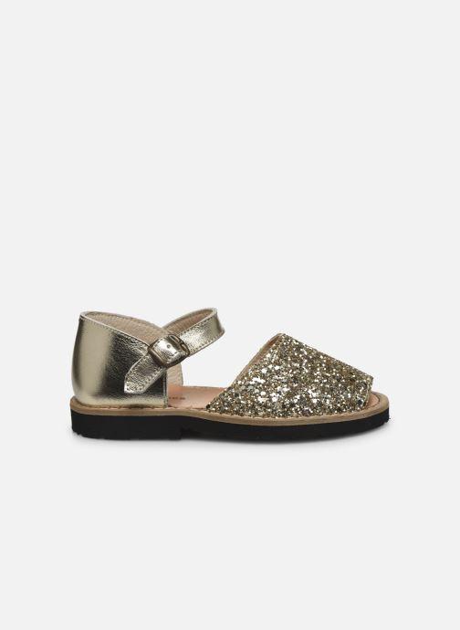 Sandali e scarpe aperte Minorquines Frailera Oro e bronzo immagine posteriore