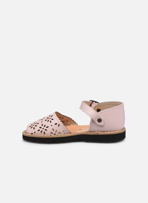 Sandali e scarpe aperte Minorquines Frailera Rosa immagine frontale