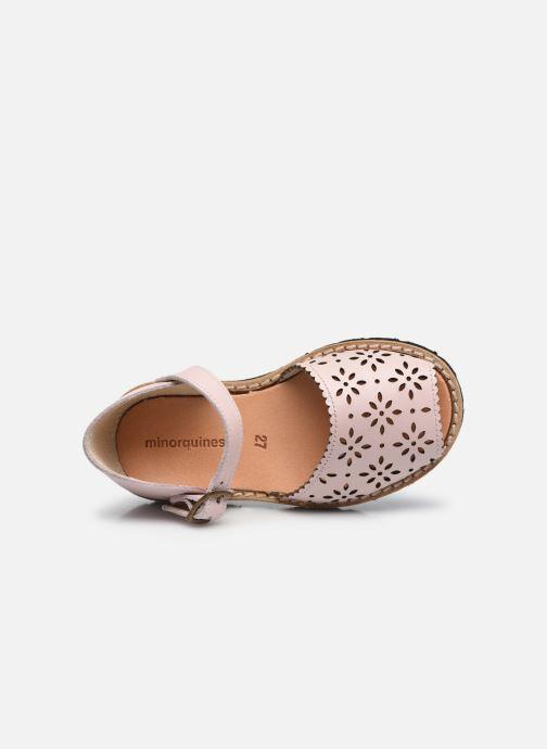 Sandali e scarpe aperte Minorquines Frailera Rosa immagine sinistra
