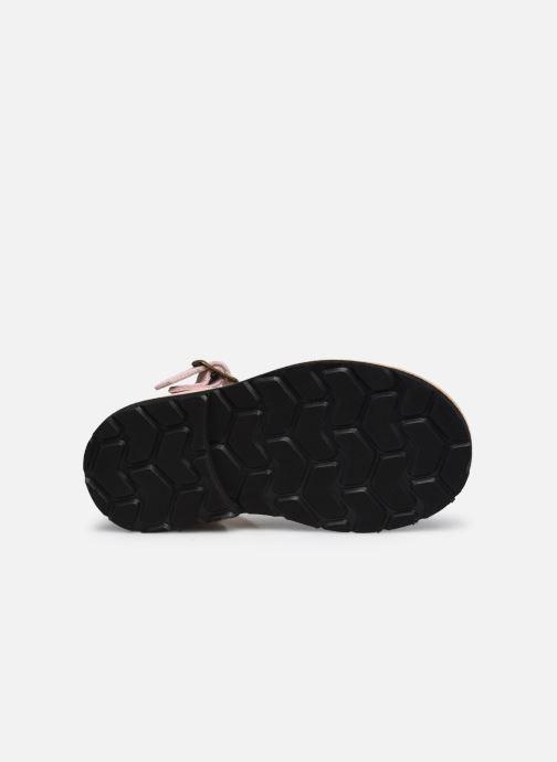 Sandali e scarpe aperte Minorquines Frailera Rosa immagine dall'alto