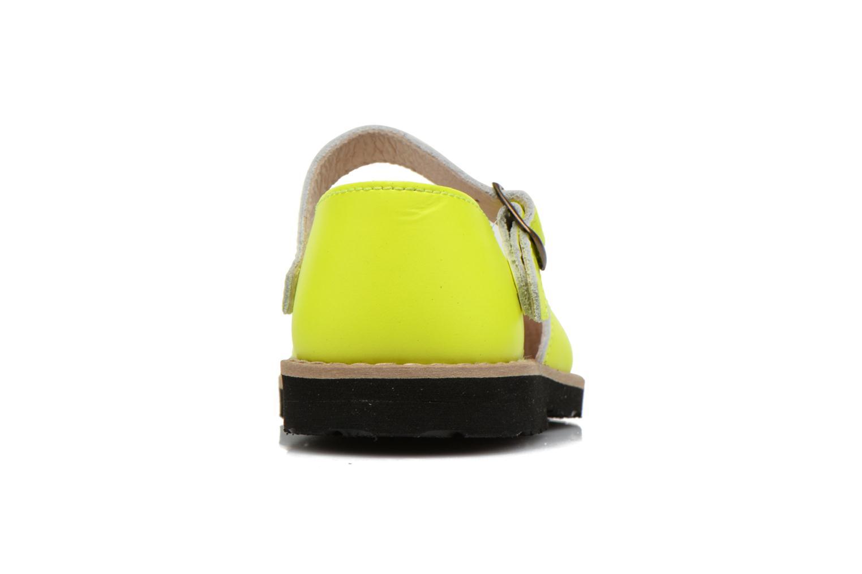 Sandalen MINORQUINES Frailera gelb ansicht von rechts