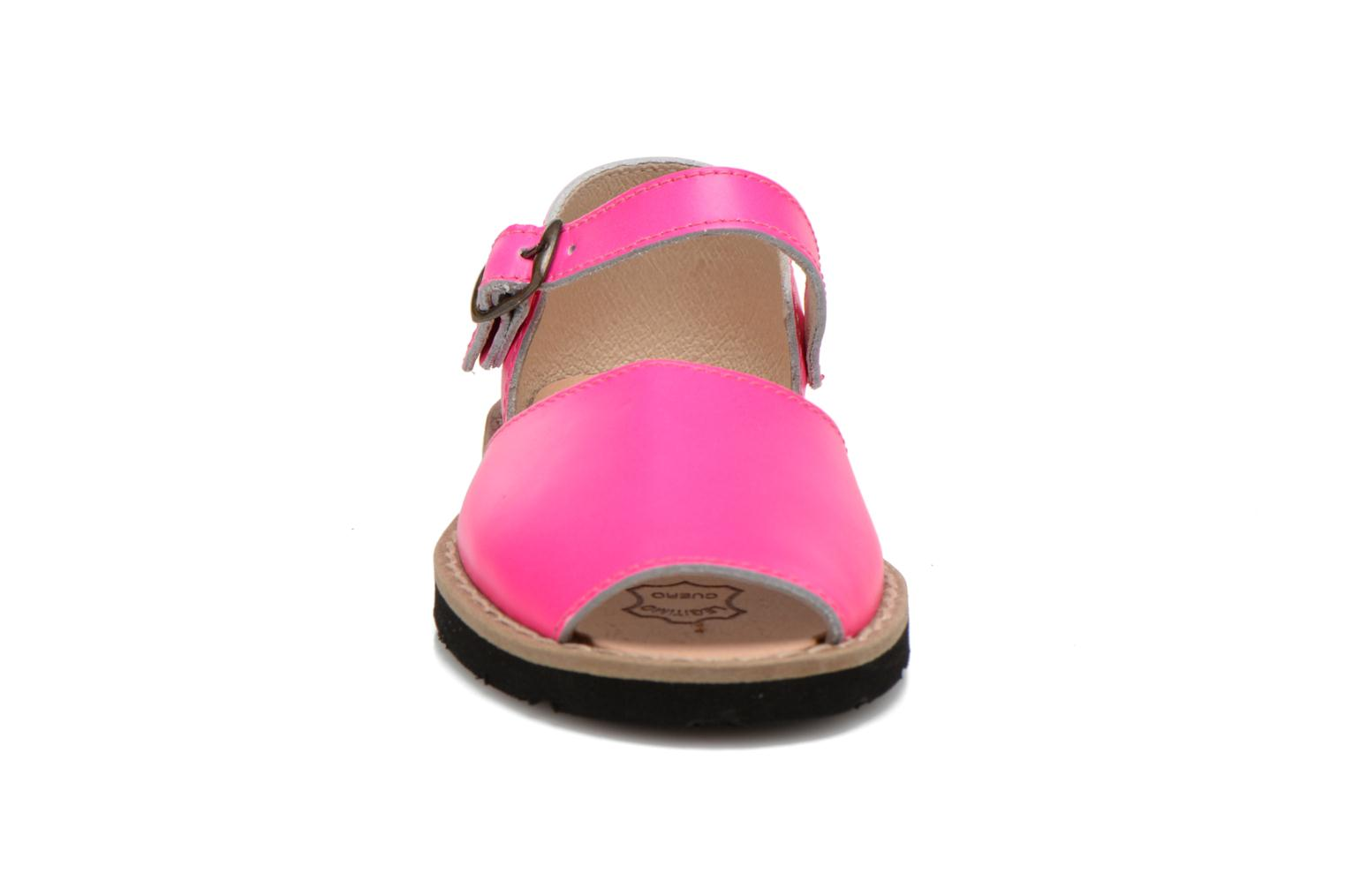 Sandals MINORQUINES Frailera Pink model view