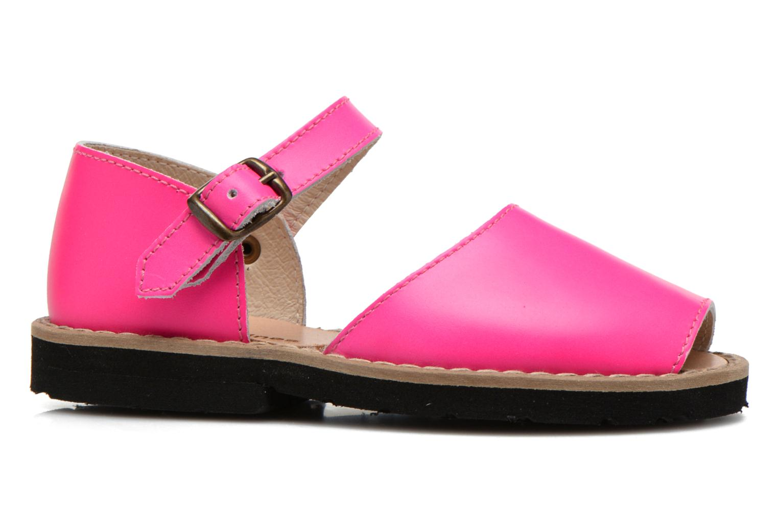 Sandals MINORQUINES Frailera Pink back view