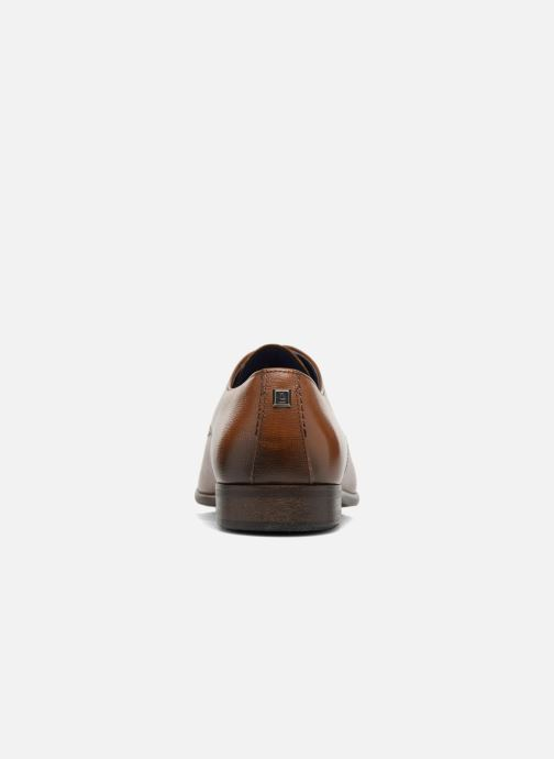 Lace-up shoes Azzaro Jurico Brown view from the right