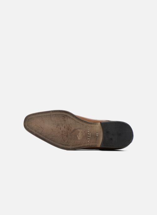 Chaussures à lacets Azzaro Jurico Marron vue haut
