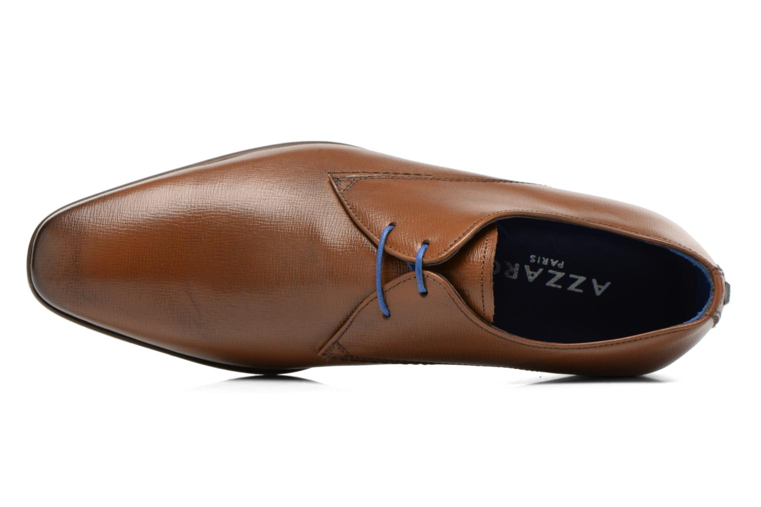 Lace-up shoes Azzaro Jurico Brown view from the left