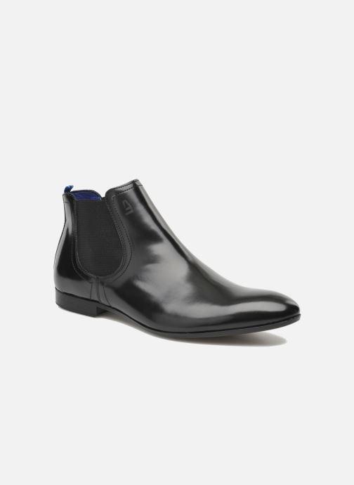 Boots en enkellaarsjes Azzaro Porti Zwart detail