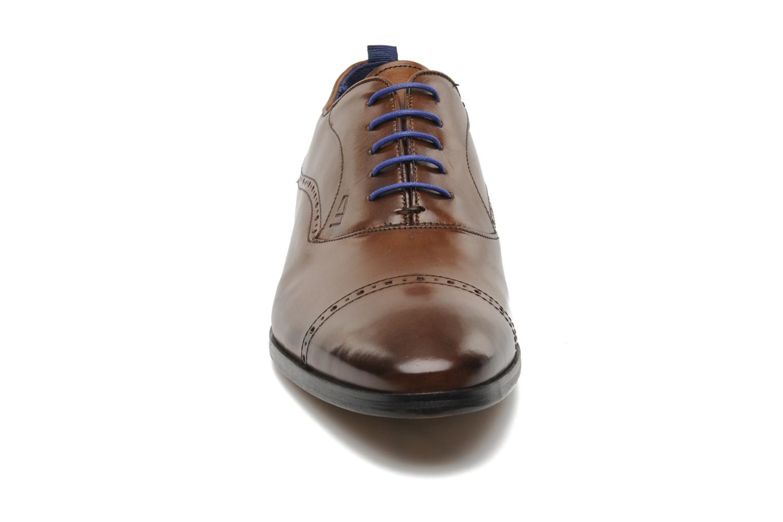 Chaussures à lacets Azzaro Depeche Marron vue portées chaussures