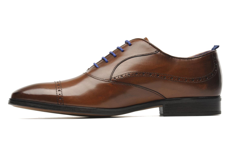 Chaussures à lacets Azzaro Depeche Marron vue face