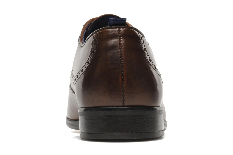 Chaussures à lacets Azzaro Depeche Marron vue droite