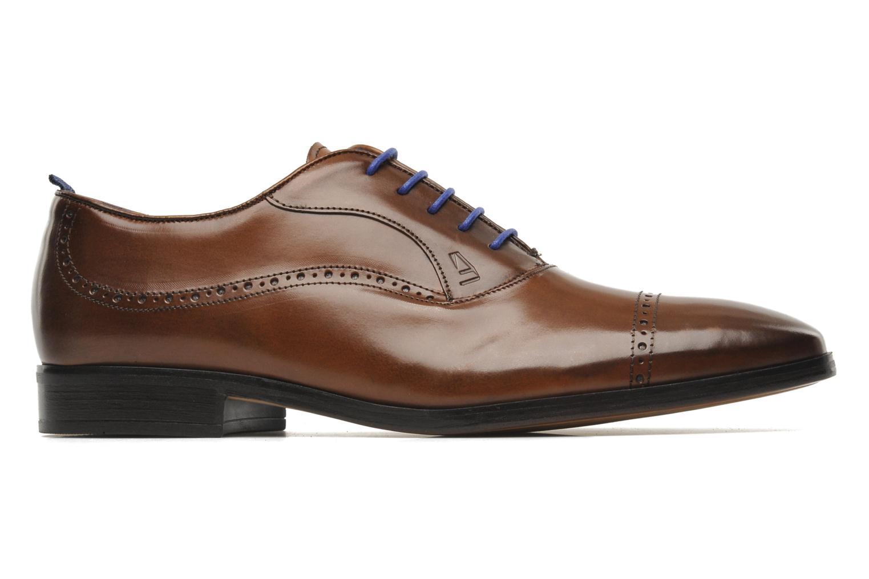 Chaussures à lacets Azzaro Depeche Marron vue derrière