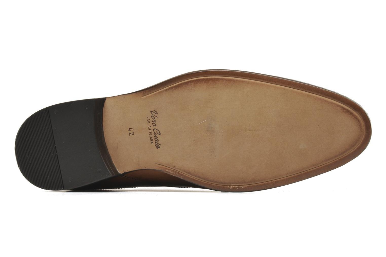 Chaussures à lacets Azzaro Depeche Marron vue haut