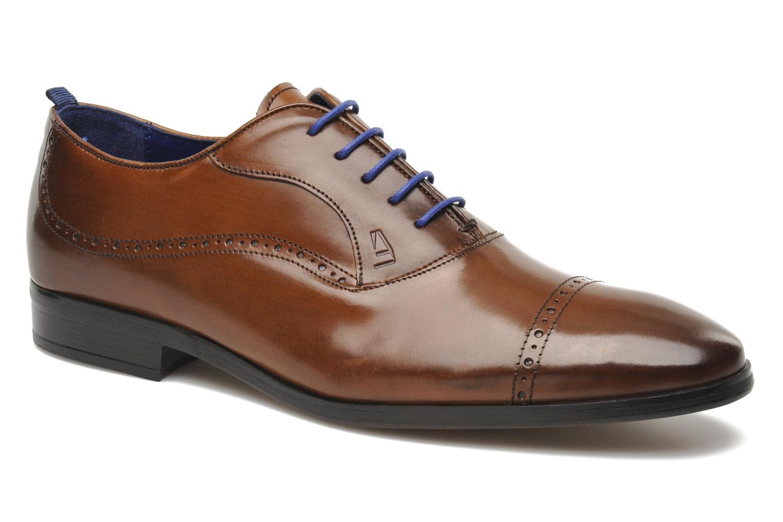 Chaussures à lacets Azzaro Depeche Marron vue détail/paire