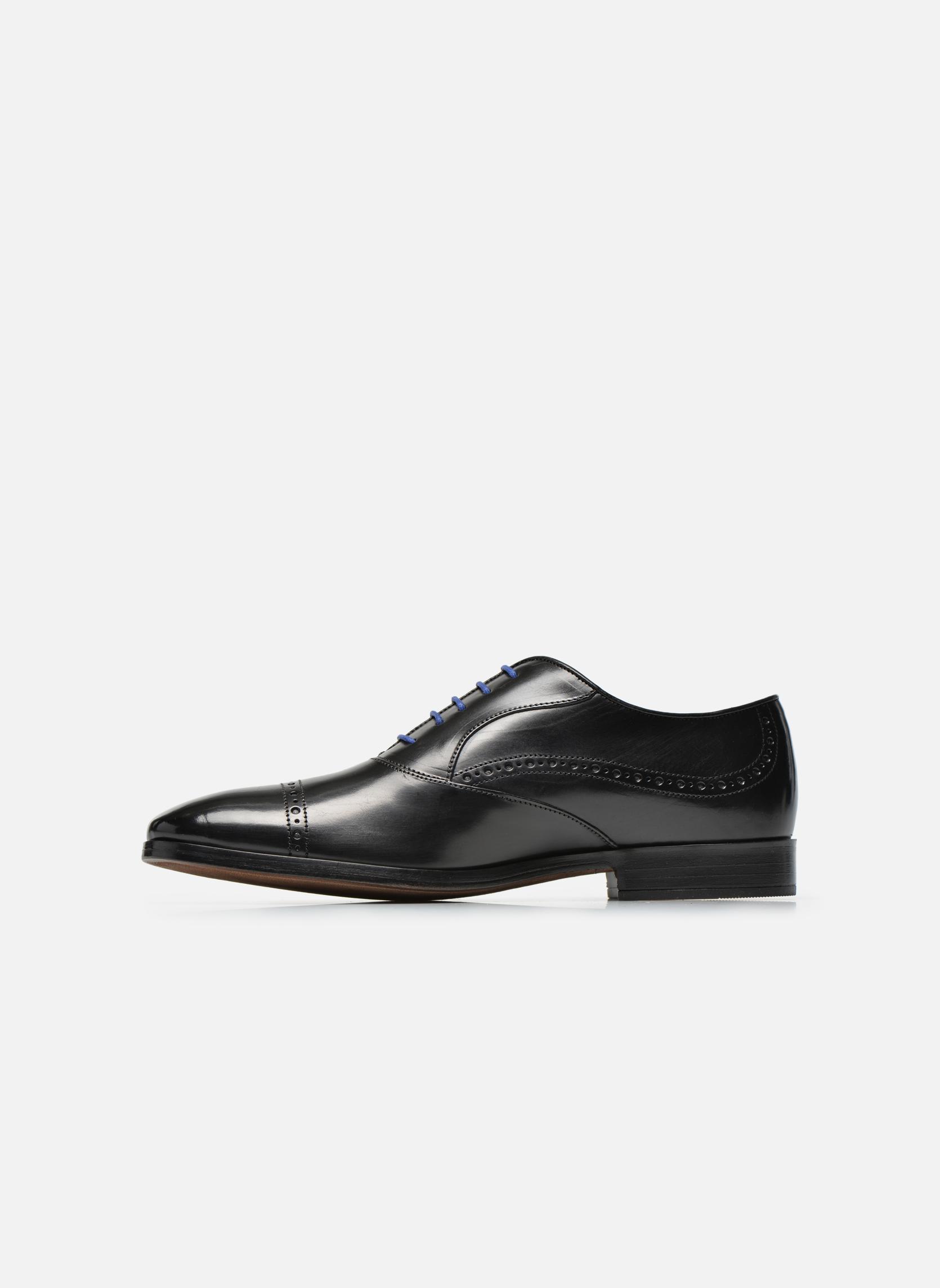 Zapatos con cordones Azzaro Depeche Negro vista de frente