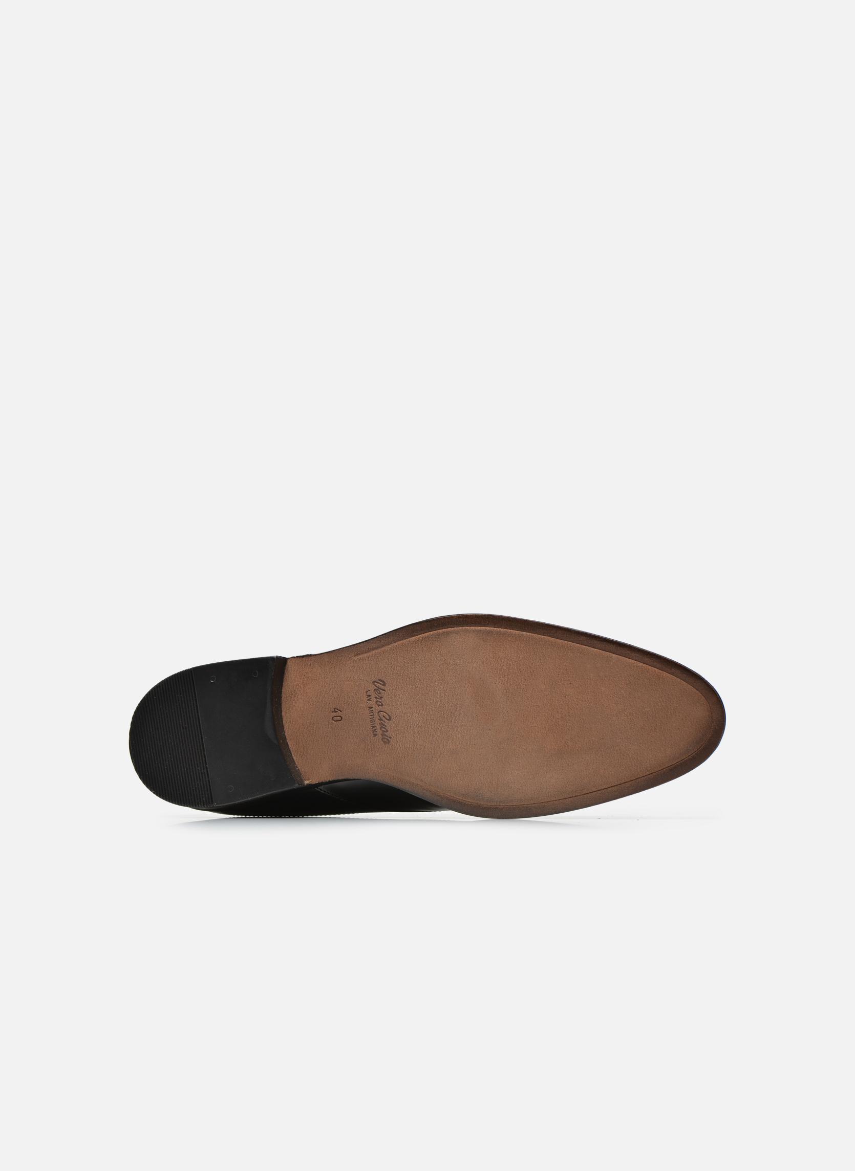 Zapatos con cordones Azzaro Depeche Negro vista de arriba
