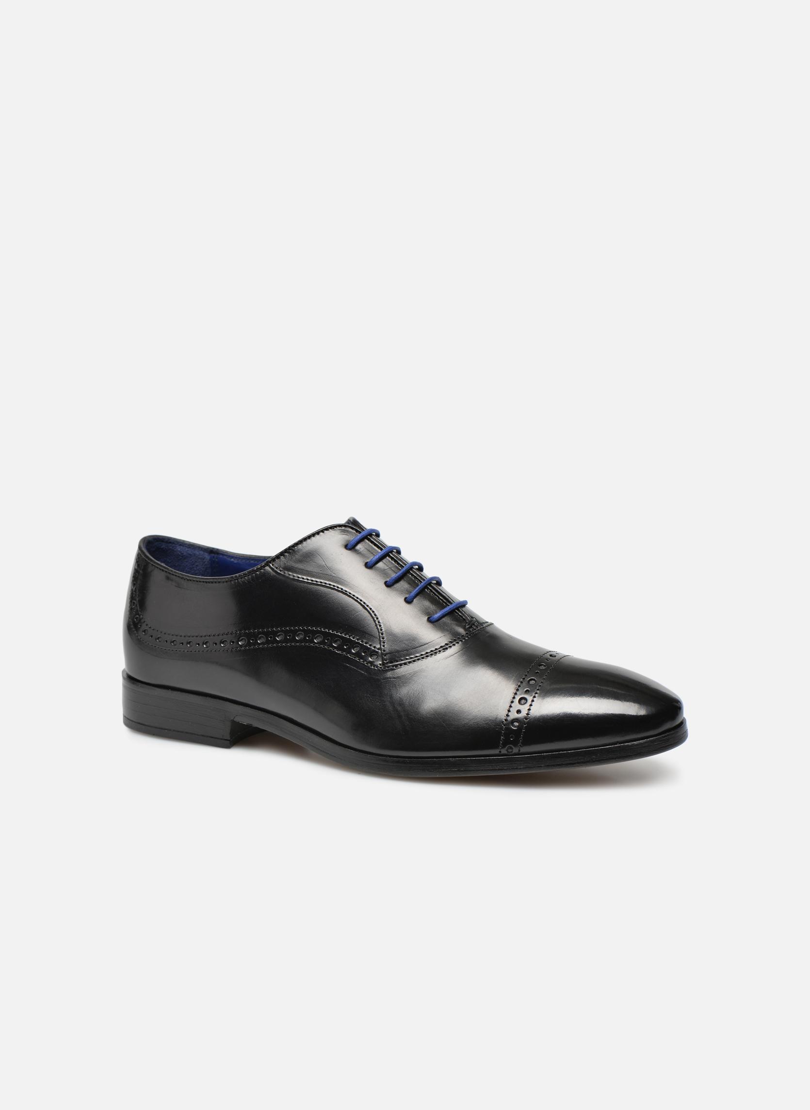 Zapatos con cordones Azzaro Depeche Negro vista de detalle / par
