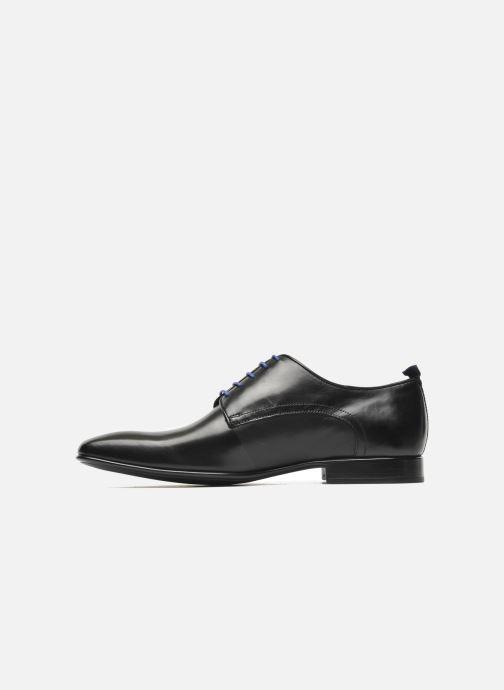 Zapatos con cordones Azzaro Nabou Negro vista de frente