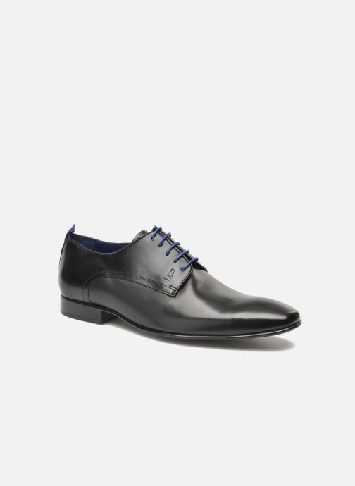 Lace-up shoes Azzaro Nabou Black detailed view/ Pair view