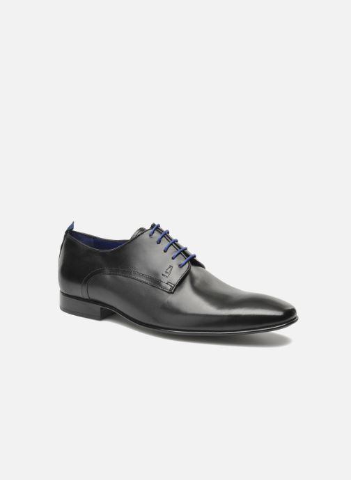 Chaussures à lacets Azzaro Nabou Noir vue détail/paire