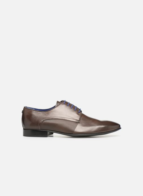Lace-up shoes Azzaro Nabou Brown back view