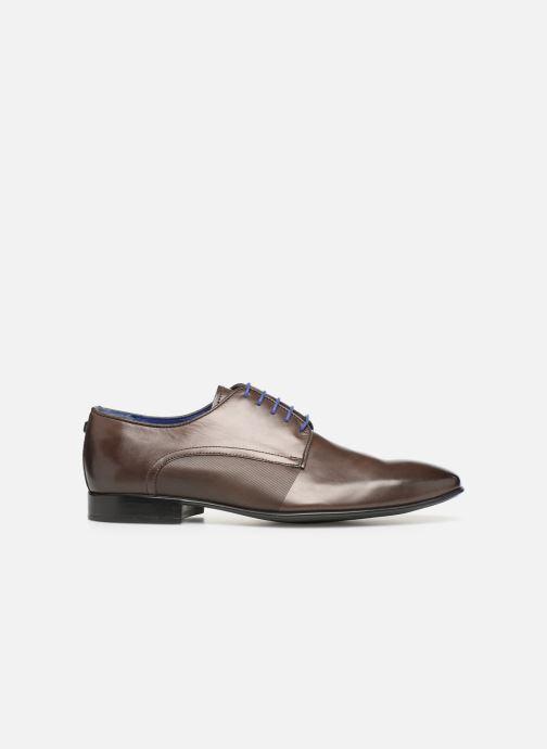 Zapatos con cordones Azzaro Nabou Marrón vistra trasera