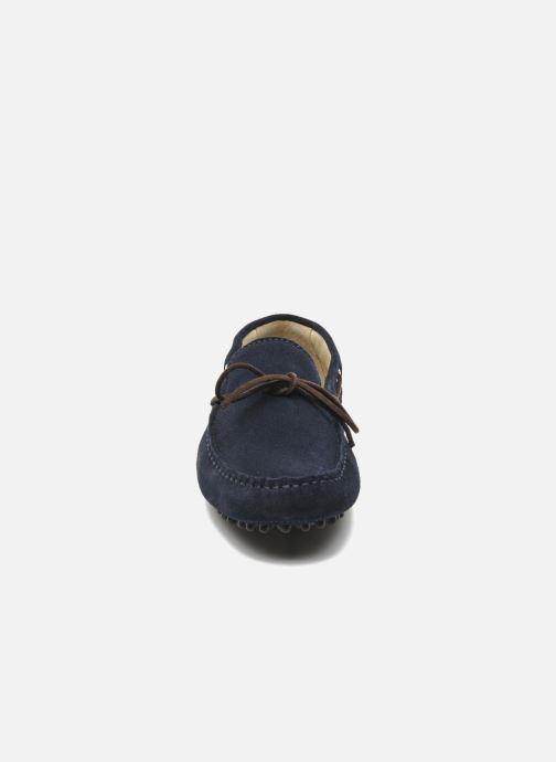 Slipper Kost Tapalo blau schuhe getragen