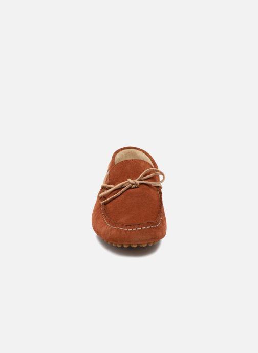 Mocassins Kost Tapalo Marron vue portées chaussures