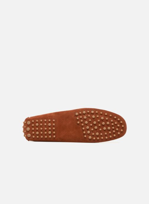 Loafers Kost Tapalo Brown view from above
