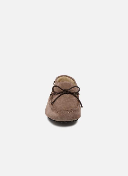 Mocassins Kost Tapalo Gris vue portées chaussures