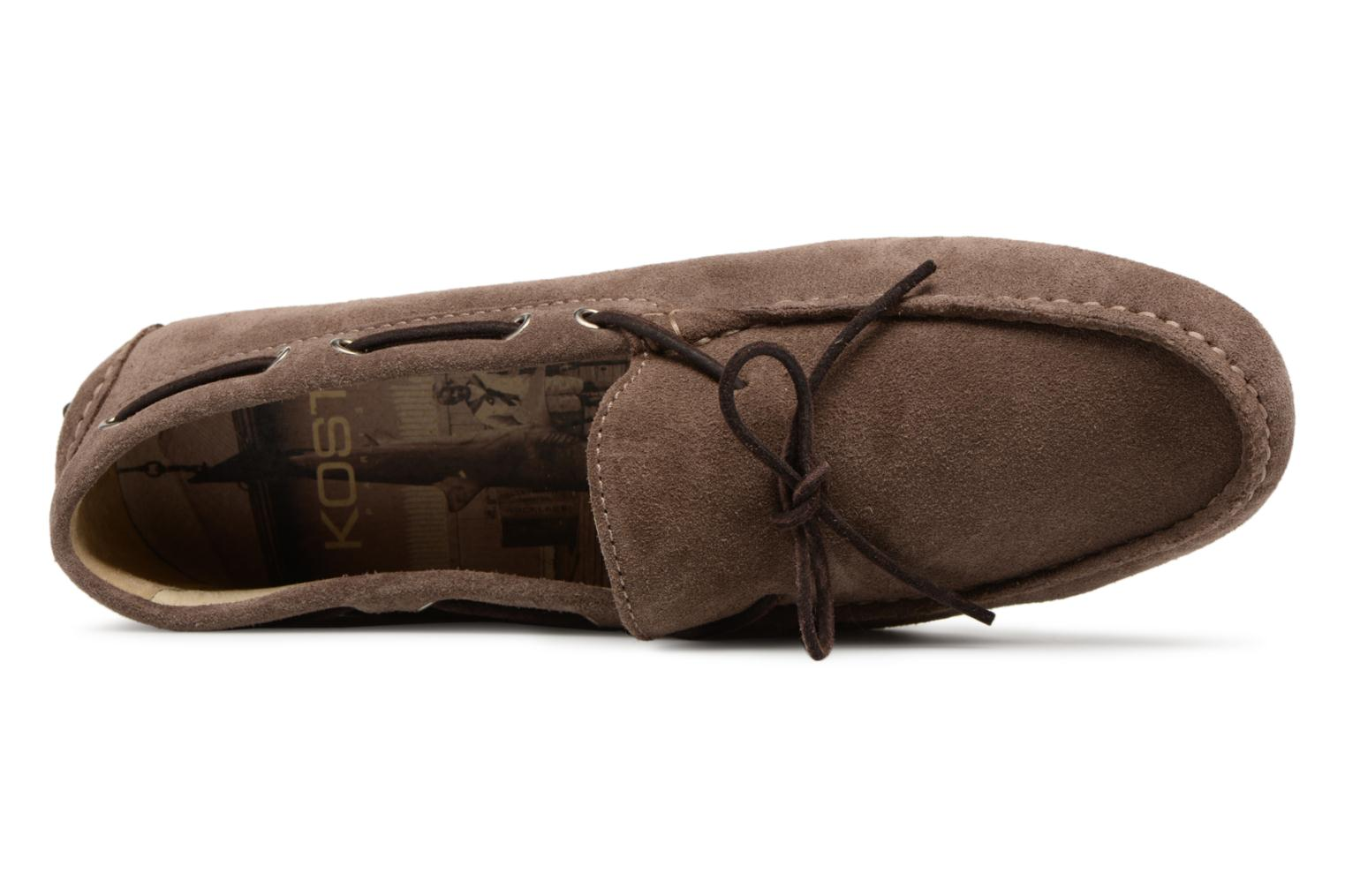 Loafers Kost Tapalo Grey view from the left