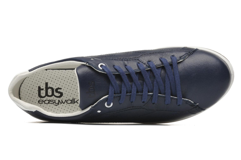 Baskets TBS Easy Walk Oxygen Bleu vue gauche