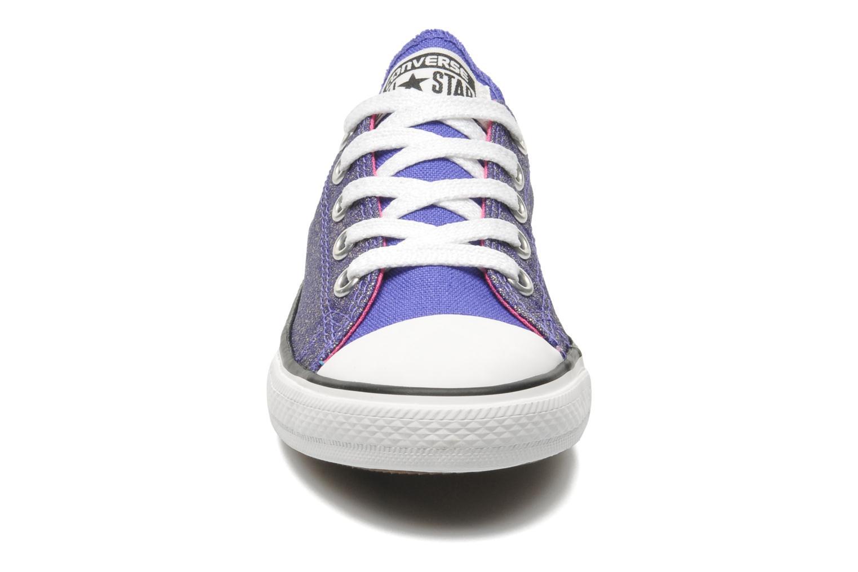 Baskets Converse Chuck Taylor EA Coast SPK Violet vue portées chaussures