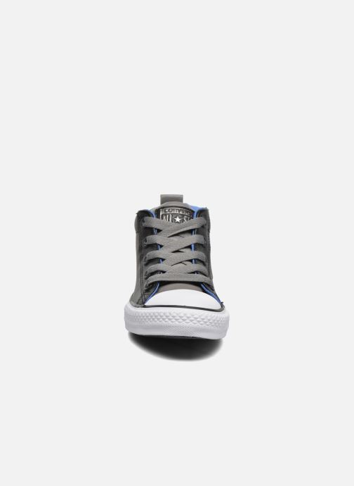 26a466958609 Baskets Converse Chuck Taylor All Star Street Mid Noir vue portées  chaussures