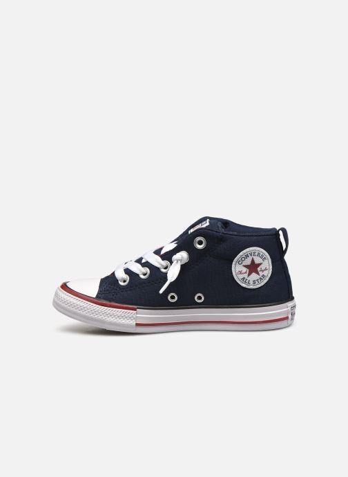 Sneaker Converse Chuck Taylor All Star Street Mid blau ansicht von vorne
