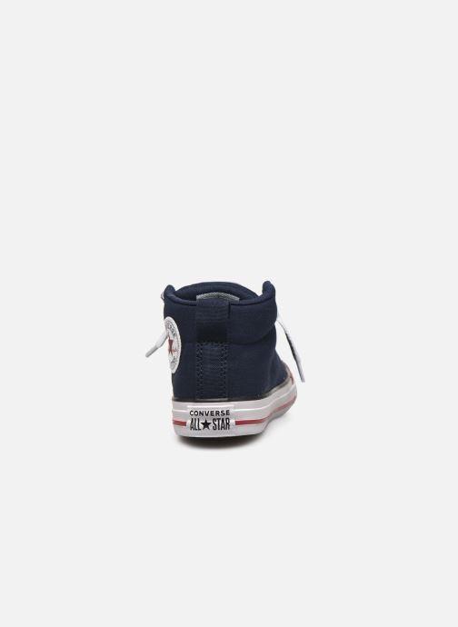 Sneaker Converse Chuck Taylor All Star Street Mid blau ansicht von rechts