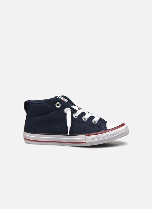 Sneaker Converse Chuck Taylor All Star Street Mid blau ansicht von hinten