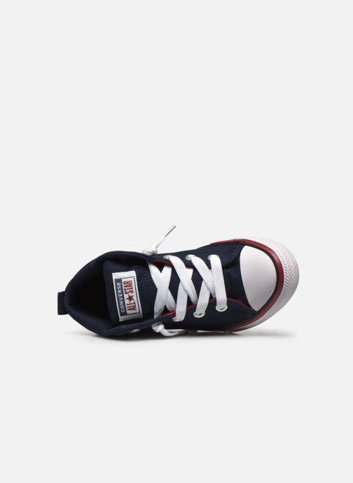 Sneaker Converse Chuck Taylor All Star Street Mid blau ansicht von links