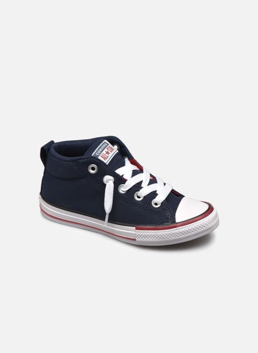 Sneaker Converse Chuck Taylor All Star Street Mid blau detaillierte ansicht/modell