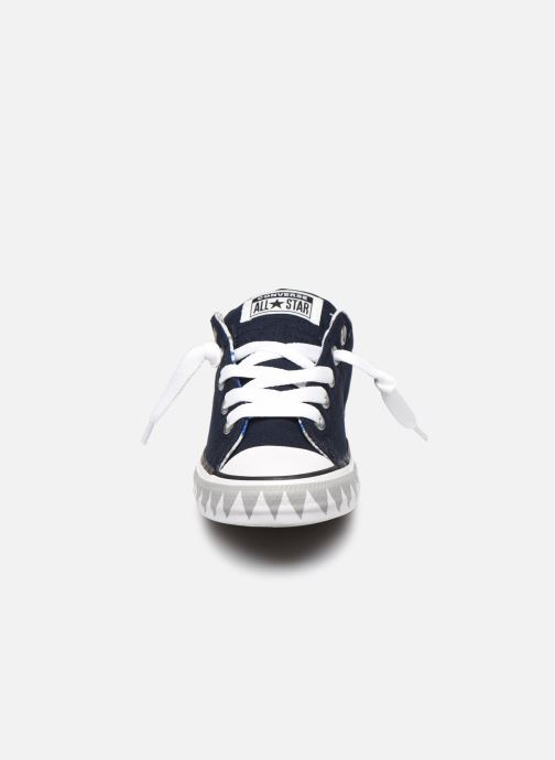 Trainers Converse Chuck Taylor All Star Street Mid Blue model view
