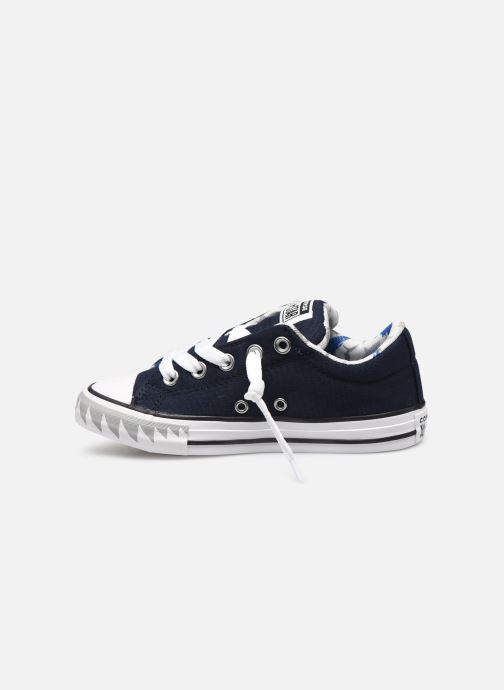 Trainers Converse Chuck Taylor All Star Street Mid Blue front view