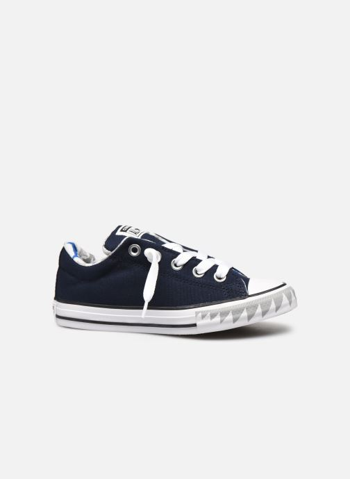 Trainers Converse Chuck Taylor All Star Street Mid Blue back view