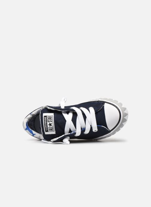 Trainers Converse Chuck Taylor All Star Street Mid Blue view from the left