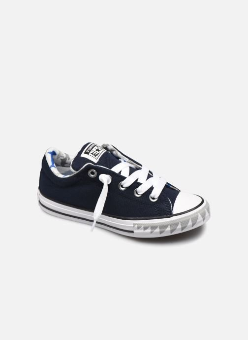 Trainers Converse Chuck Taylor All Star Street Mid Blue detailed view/ Pair view