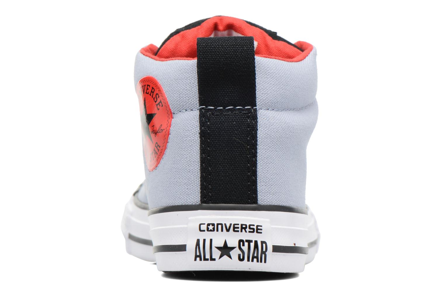 Baskets Converse Chuck Taylor All Star Street Mid Gris vue droite