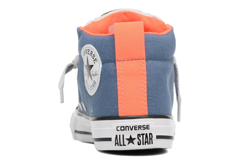 Baskets Converse Chuck Taylor All Star Street Mid Bleu vue droite