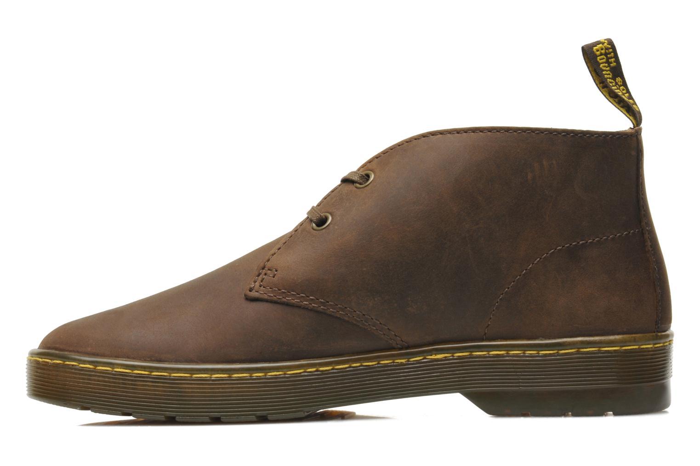 Chaussures à lacets Dr. Martens Cabrillo Marron vue face